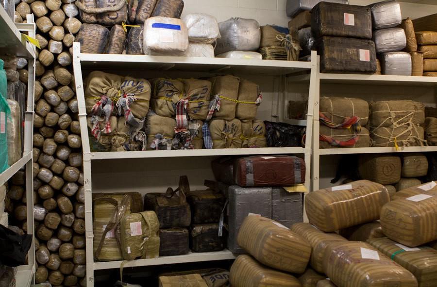 Law Enforcement Officials Flow Of Drugs Across U S