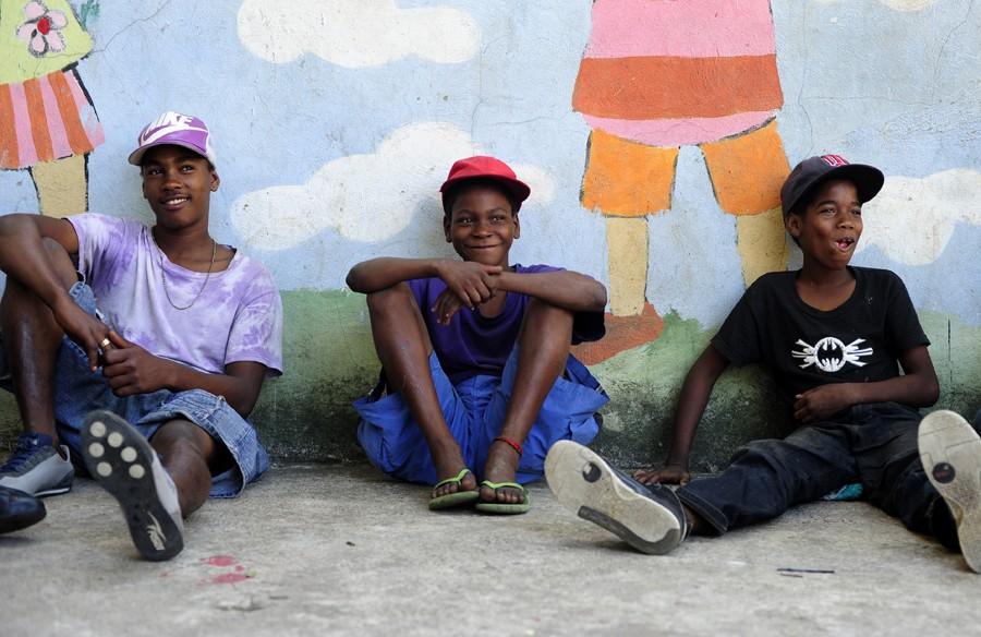Children Struggle To Survive On Santo Domingo Streets-7712