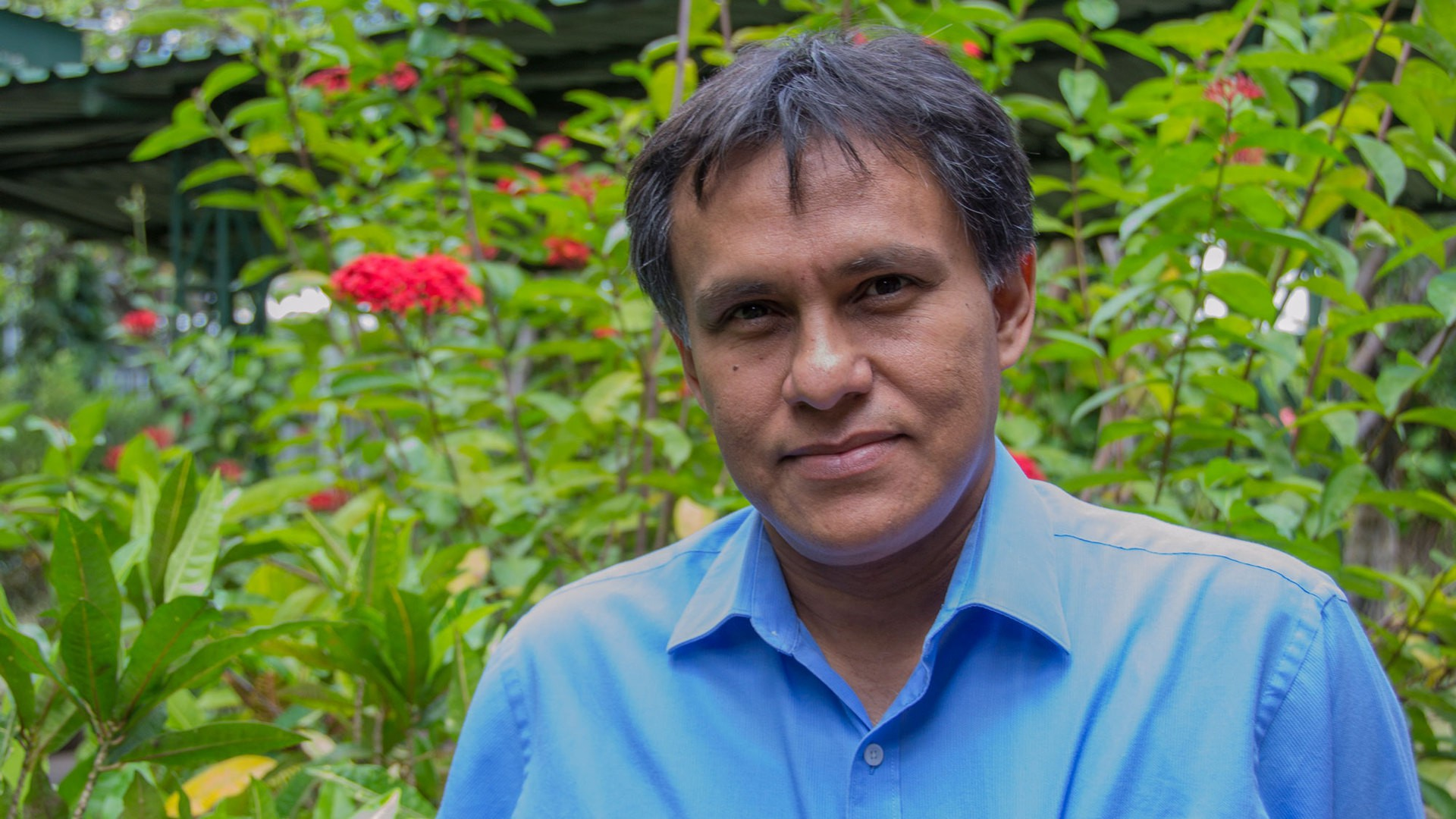 Jorge Huete Perez, vice president of the Nicaraguan Academy of Sciences (Photo by Danika Worthington)