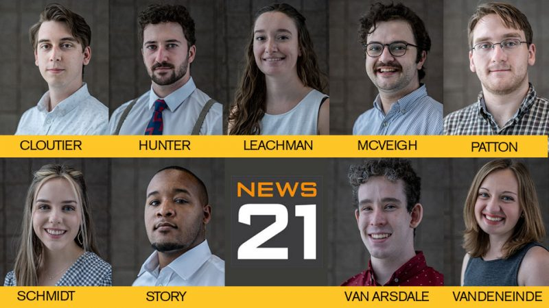 These 9 Cronkite students were accepted as summer fellows for the Carnegie-Knight News21 initiative