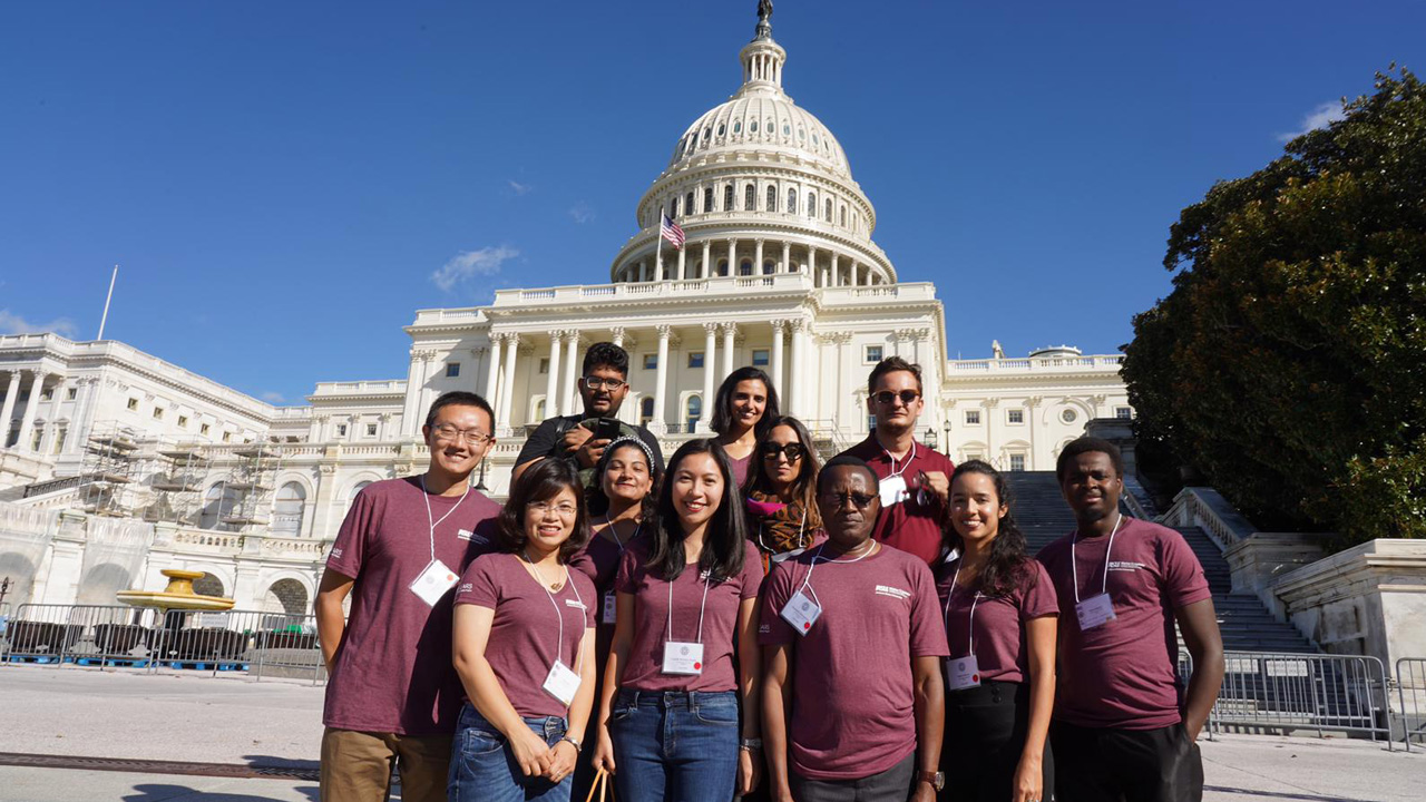 Humphrey Fellows at the Capitol