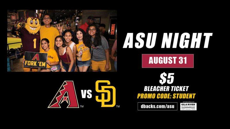 ASU Night at the Dbacks
