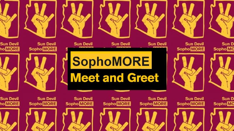 ASU Sophomore meet and greet