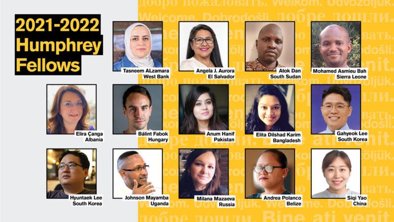 2021-22 Humphrey Fellows