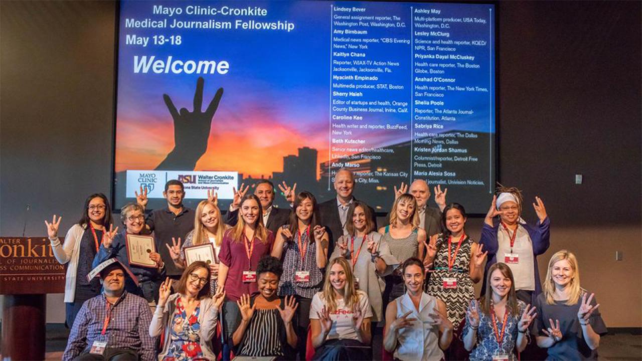 Mayo Clinic Cronkite Medical Journalism Fellowship