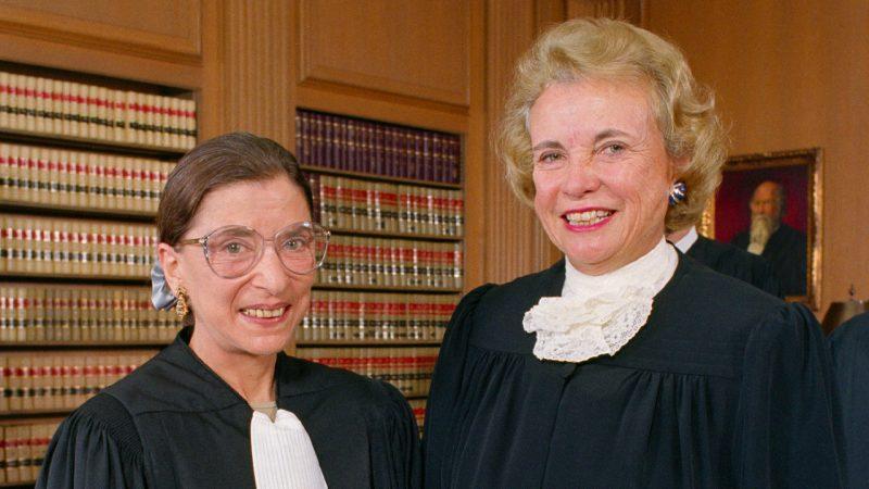 Ruth Bader Ginsberg and Sandra Day O'Connor